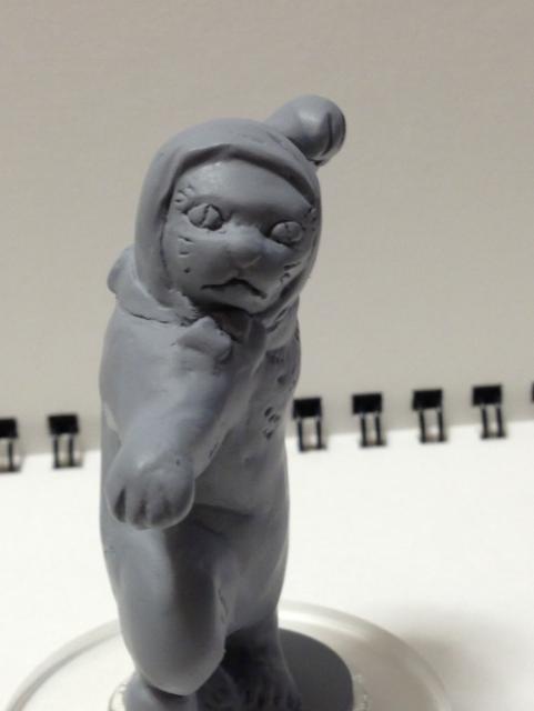 猫じゃ吽形原型3