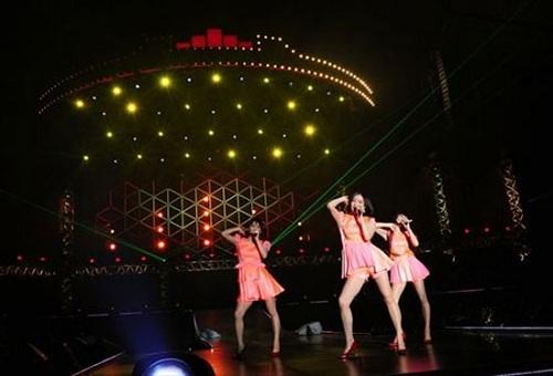 2009年のライブはWOWWOWのみで放送されました