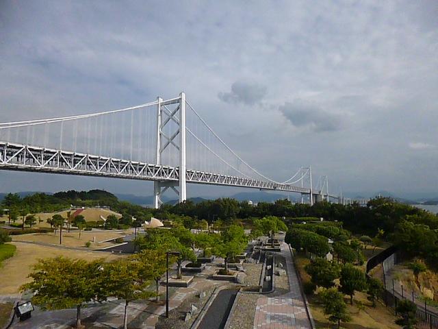瀬戸大橋がよく見ます