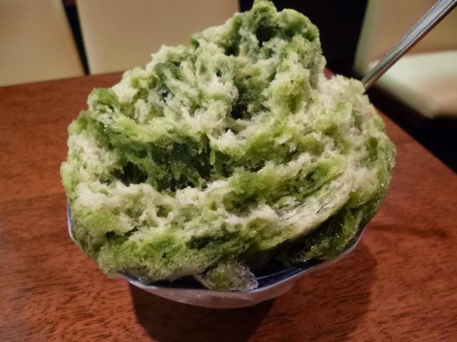 抹茶好き・小豆好き・氷好きにとってはたまりません