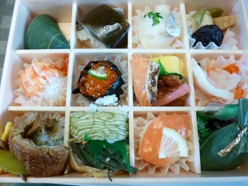 柿の葉寿司のお店です