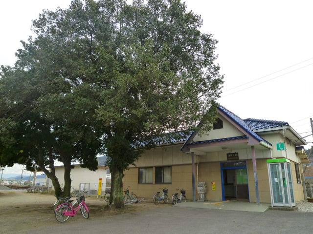 JR海岸寺駅です