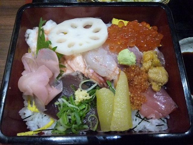 立派なちらし寿司です