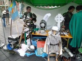 中世文化甲冑研究家の方です