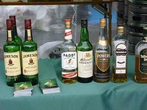 アイリッシュウイスキーの代表JAMESONもあります