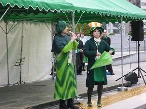 緑色はアイルランドのナショナルカラーです
