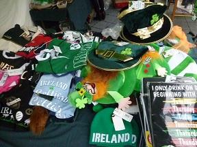 アイルランド雑貨のブース