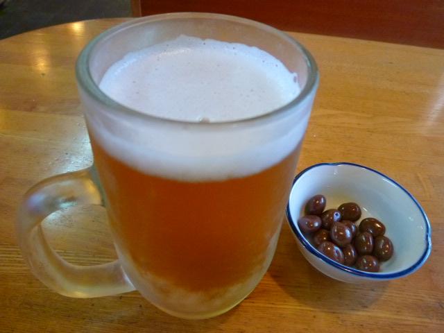 やっぱりジョッキはいいですね グラスで飲むより数段美味しいです