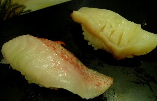 キンキは高級魚 一貫で498円!!