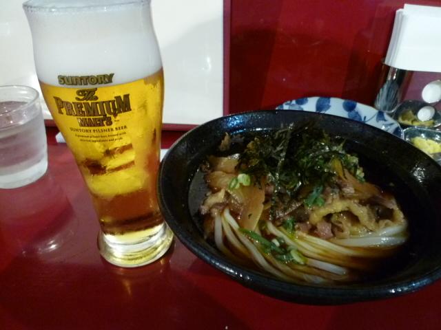 肉うどん,ちょっと辛いけど東京ではアリなのかもしれませんね