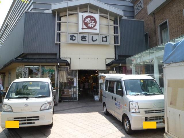 JR金沢駅500mのところにある,むさし交差点にあります
