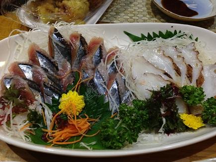 9222013晩酌秋刀魚炙蛸S2