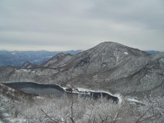 地蔵岳山頂(12/20)