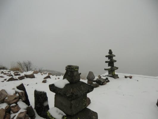 黒檜山、大沼も見えず