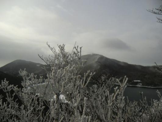 定番の一枚、猫岩から大沼、地蔵岳