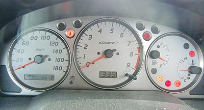 燃料がない!給油しなくては…。