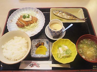 味の蔵の日替わり定食