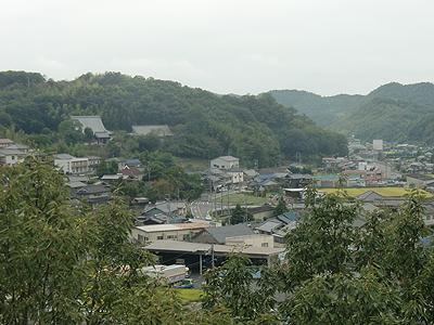 沼隈病院の窓から見た景色