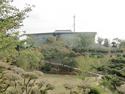 千光寺公園内にある尾道市立美術館