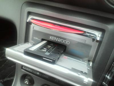 カセット&CDのカーコンポ