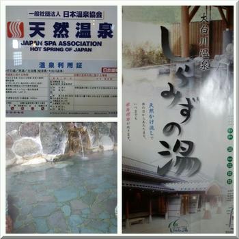 大白川温泉 しらみずの湯 日帰り入浴