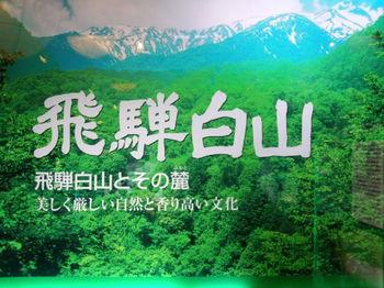 道の駅 飛騨白山 (白川郷 平瀬温泉 エリア)