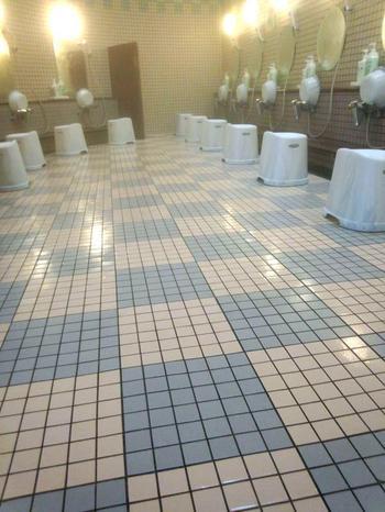 しらみずの湯 洗い場