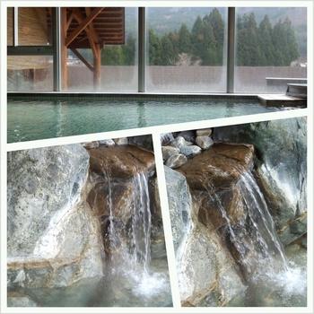 大白川温泉 しらみずの湯 桜と湯巡り