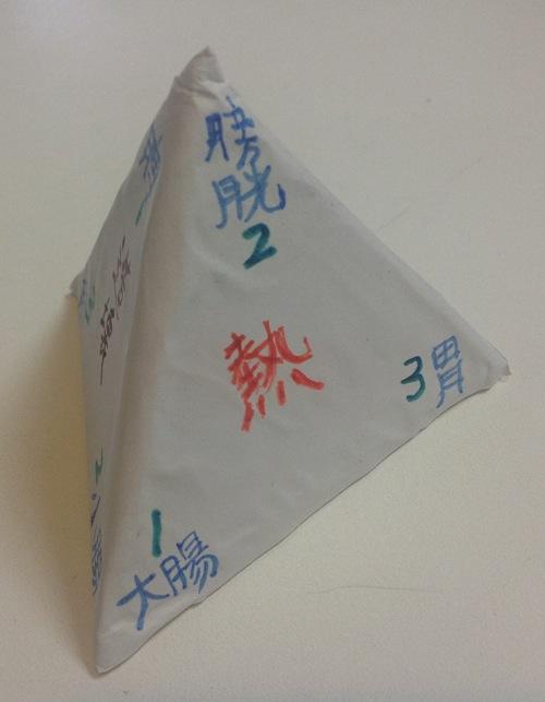 三角の神様