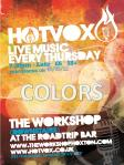 Colors @The Workshop 03/05/2012_Flyer