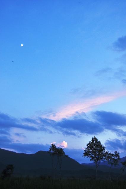 夕刻の尾瀬