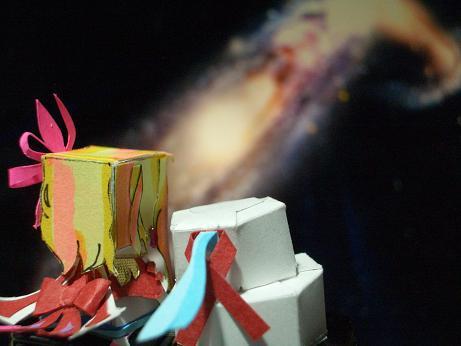 衝突銀河と二人