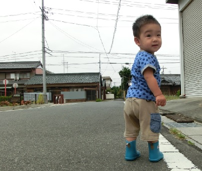 お気に入りの長靴