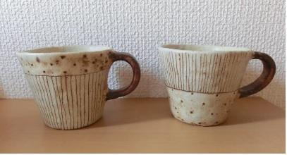 金成潤子マグカップ
