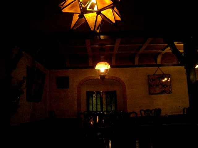 ボルドー 金平糖ランプ