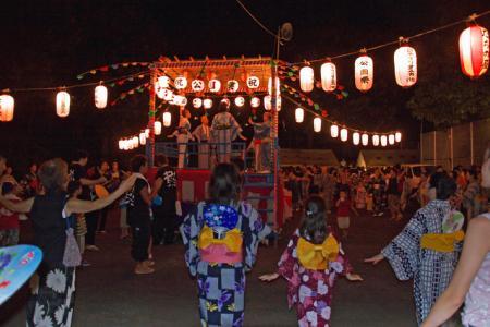 城崎温泉 盆踊り(8/14~16の三日間)