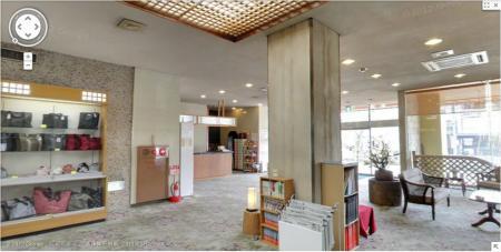 「Google お店フォト」館内ストリートビュー完成