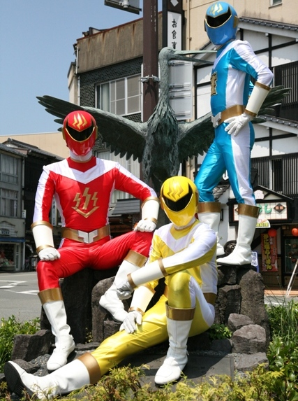 今晩から毎週日曜は、城崎泉隊オンセンジャー!!