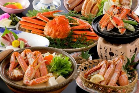 秋・冬の蟹プランのご予約受付中