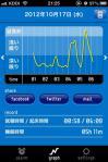 iPhoneアプリ(快眠サイクル)