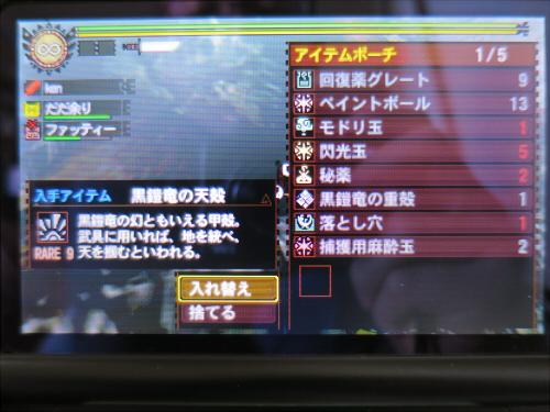 懲りずにソロでMH4G-04