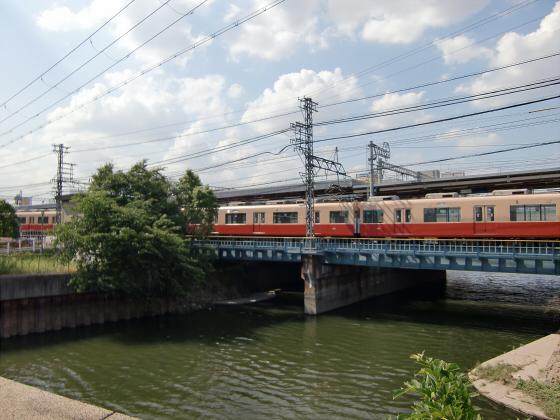 尼崎で阪神電車02