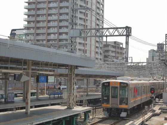 尼崎で阪神電車06
