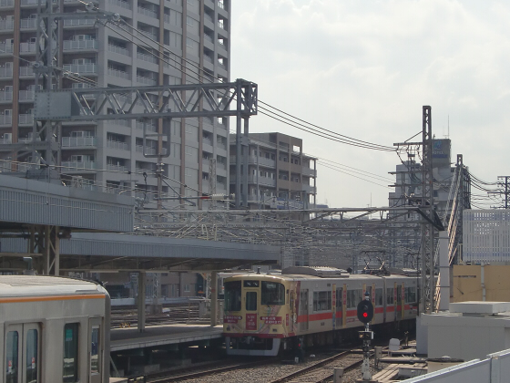 尼崎で阪神電車08