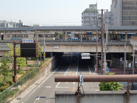 尼崎で阪神電車09