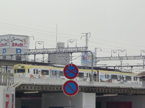 尼崎で阪神電車10