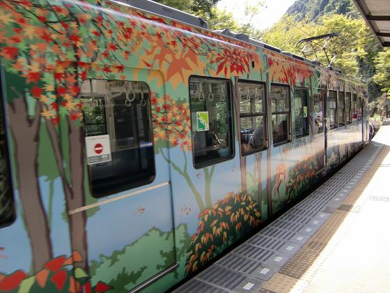 叡山電車~鞍馬・貴船へ~09