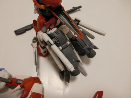 ガンダムfixで手抜きニコイチ2