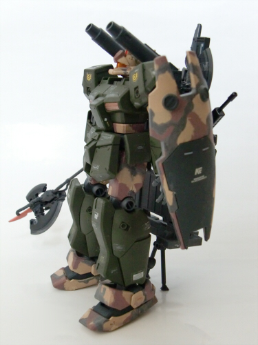 FAザクⅢ改改・特殊輸送用ジムキャノンⅡ・その他17