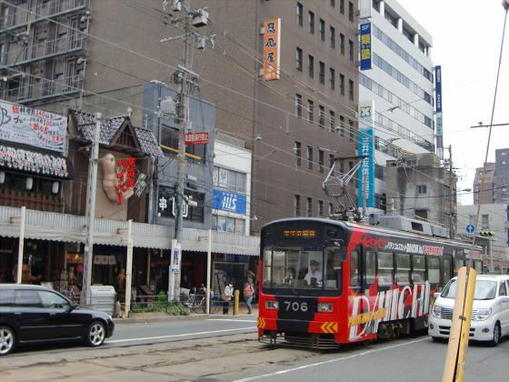 阪堺電車がゆく2012-02